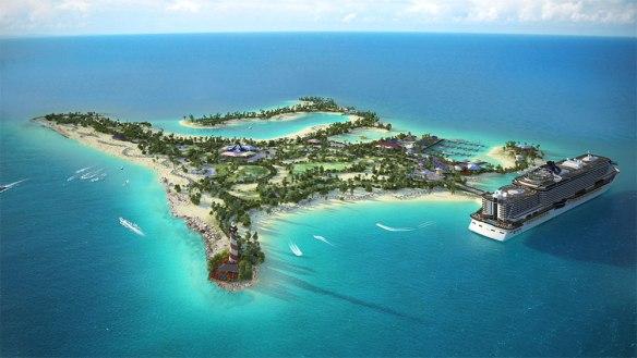 msc private island
